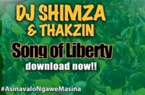 Dj Shimza - SONG OF LIBERTY (VOTE ANC) ft. DJ THAKZIN